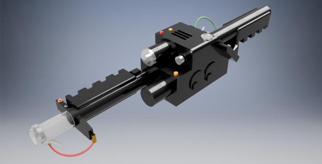 Proton Gun – Ghostbusters 3D Model