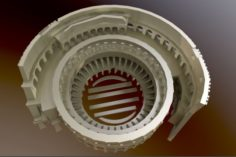 Statuette – Colosseum 3d print model 3D Model