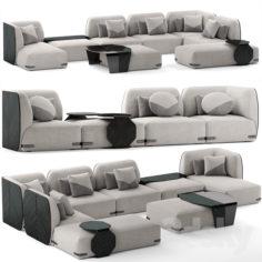 Sofa u-2020                                      3D Model