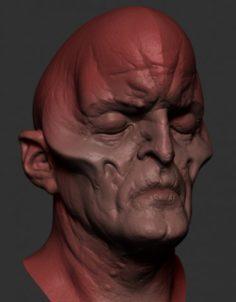 B Creature 3D Model