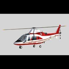 Agusta A-109 Vigili del Fuoco 3D Model