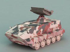 Anti-Air Missile 3D Model