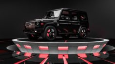 MERCEDES G-CLASS BLACK 3D Model