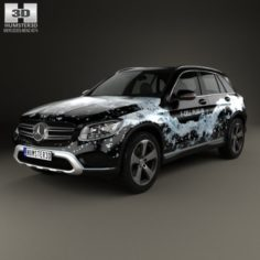 Mercedes-Benz GLC-Class X205 F-Cell 2016 3D Model