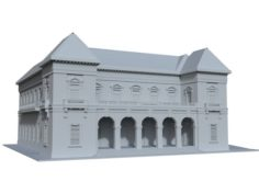 Courthouse 3D Model