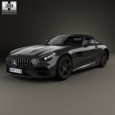 Mercedes-Benz AMG GT C Roadster 2017 3D Model