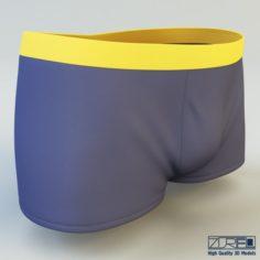 Boxer briefs 3D Model