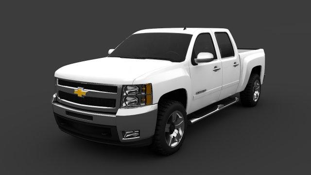 Chevrolet silverado 1500 z71 3D Model