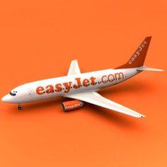 Easyjet 737 3D Model