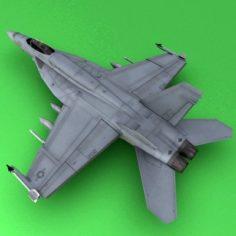 F-18E 3D Model
