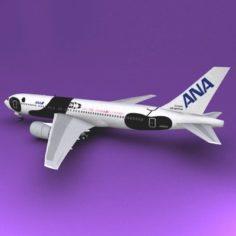 Boeing 767 ANA 3D Model