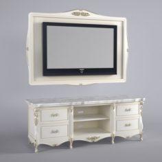 Cabinet for TV 3D Model