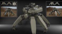 Mech 1 3D Model