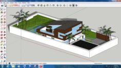 Villa sketchup – 8 3D Model