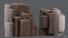 Rocks V03 3D Model