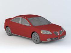 Pontiac G6 Sedan 3D Model