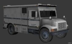 Armered Truck 3D Model