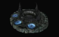Black pool 3D Model