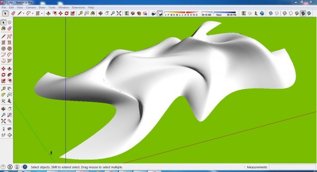 Sketchup and rhinoceros model idea 01 3D Model