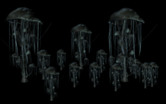 Black reach epic mushroom 3D Model