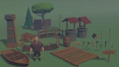 Pack de Assets 3D Model