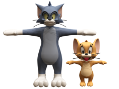 Tom and jerry 3D Model
