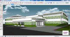 Sketchup Sport complex 103 3D Model