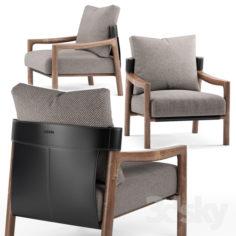 Vera armchair – Porada                                      3D Model