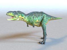 Animated Dinosaur 3D Model