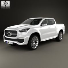 Mercedes-Benz X-class concept stylish explorer 2017 3D Model