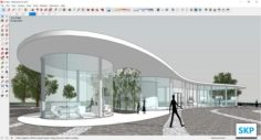 Sketchup Gallery A1 3D Model