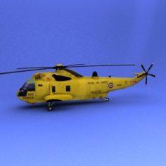 Sea King HAR3A 3D Model