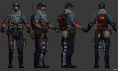 Mountain Guard Rumble Jack 3D Model