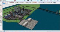 City 3d sketchup – 9 3D Model