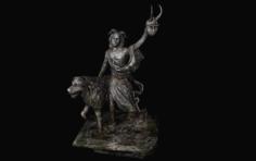 Clavicus vileshrine 3D Model