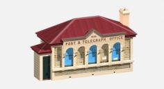 Post Office Building 3D Model