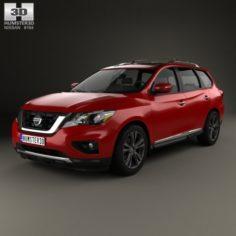 Nissan Pathfinder 2017 3D Model