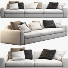 Poliform Dune sofas 3D Model
