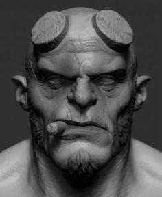 Hellboy v3 3D Model