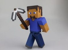 Steve from Minecraft 3D Model