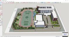 Sketchup school H5 3D Model