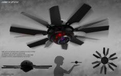 SpyDrone Free 3D Model