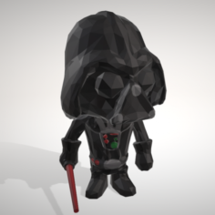 DARTH VADER – LOWPOPLY COLLECTION FIGURINE – BY OBJOY 3D Model