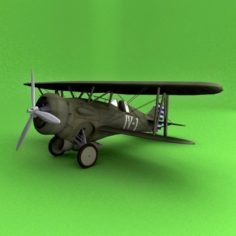 Hawk III 3D Model