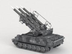 Missile System 3D Model