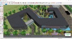 Sketchup Museum 126 3D Model