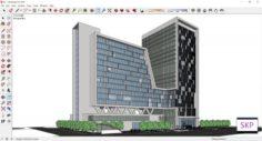 Sketchup hotel complex G7 3D Model