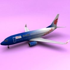Boeing 737 Beijing Olympic 3D Model