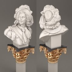 Bust of an Aristocrat 3D Model