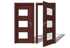 Interior Door 3D Model